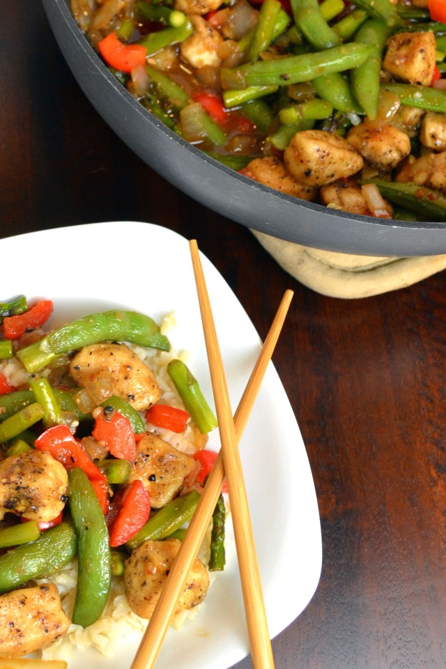 Black Pepper Chicken Stir Fry | windykitchen