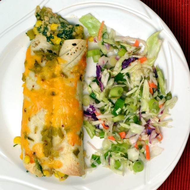 Creamy Spinach Enchiladas | windykitchen