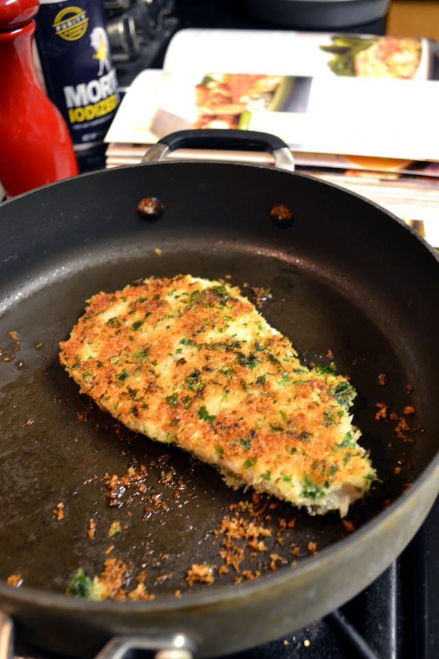 Garlic-Herb Oven Fried Tilapia | windykitchen