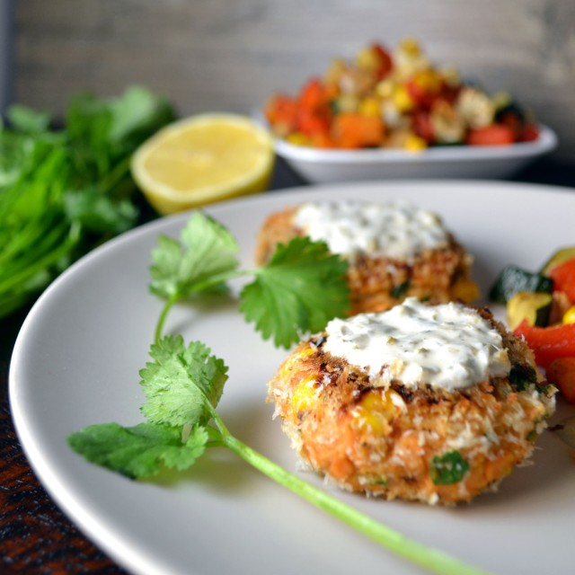 Salmon Corn Cakes | windykitchen
