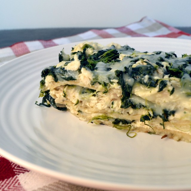 White Chicken Spinach Lasagna | windykitchen