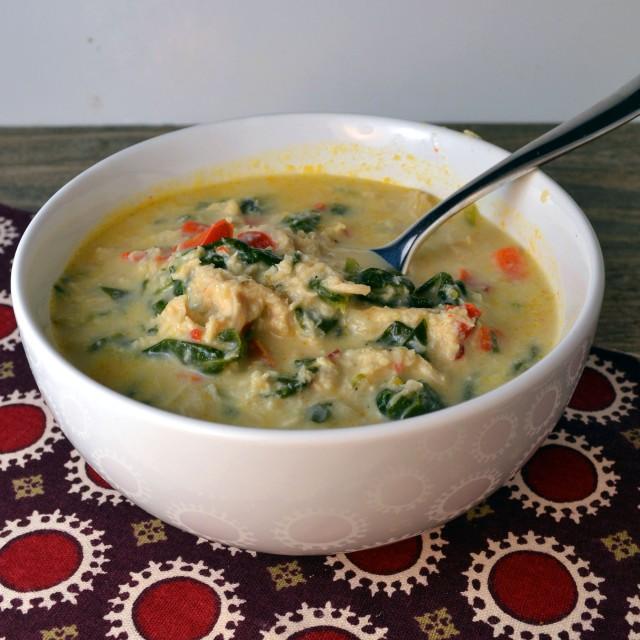 Creamy Chicken Brie Soup | windykitchen