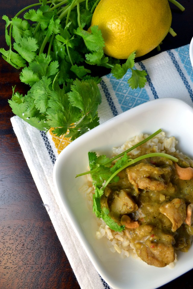 Peppery Chicken Curry | windykitchen