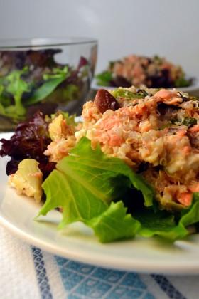 Mediterranean Salmon Salad | windykitchen