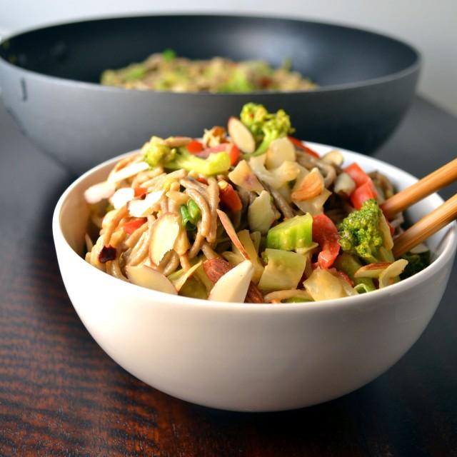 Soba Noodle Stir Fry | windykitchen