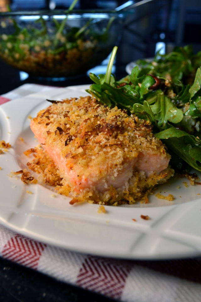 Coconut Panko Salmon | windykitchen